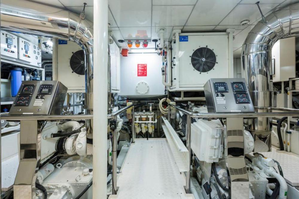 ZEEPAARD - Luxury Motor Yacht For Sale - ENGINE ROOM - Img 1 | C&N