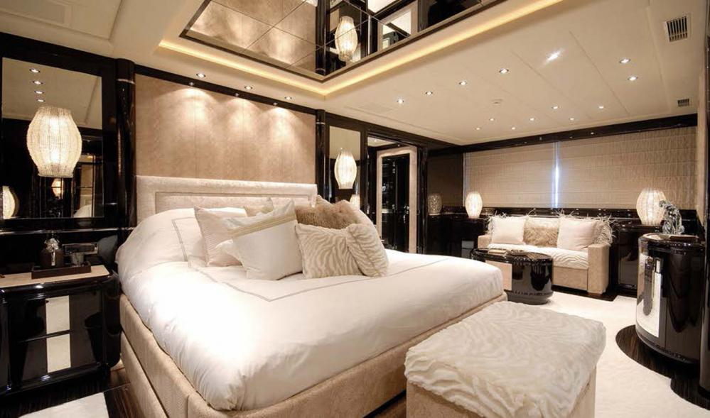 AFRICAN CAT - Luxury Motor Yacht For Sale - Master Cabin - Img 1   C&N