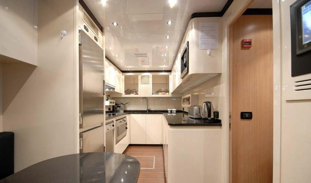AFRICAN CAT - Luxury Motor Yacht For Sale - Galley - Img 1   C&N