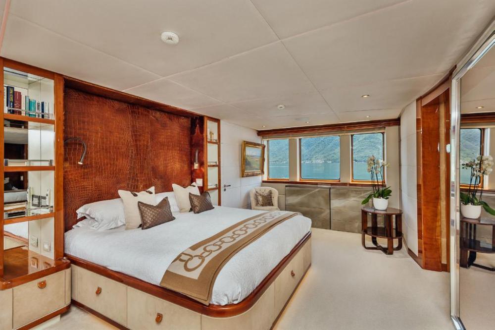 ZULU - Luxury Motor Yacht For Charter - Master Cabin - Img 1   C&N
