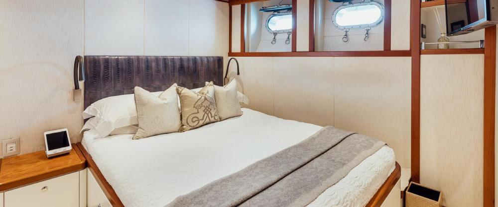 ZULU - Luxury Motor Yacht For Charter - VIP Cabin   Double Cabin - Img 1   C&N