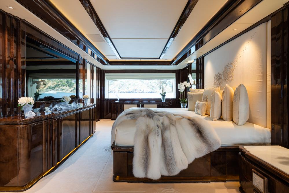 ILLUSION V - Luxury Motor Yacht For Charter - 1 MASTER CABIN  - Img 2   C&N