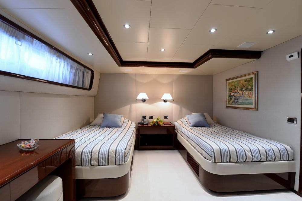 SHAF - Luxury Motor Yacht For Sale - TWIN CABINS - Img 2   C&N