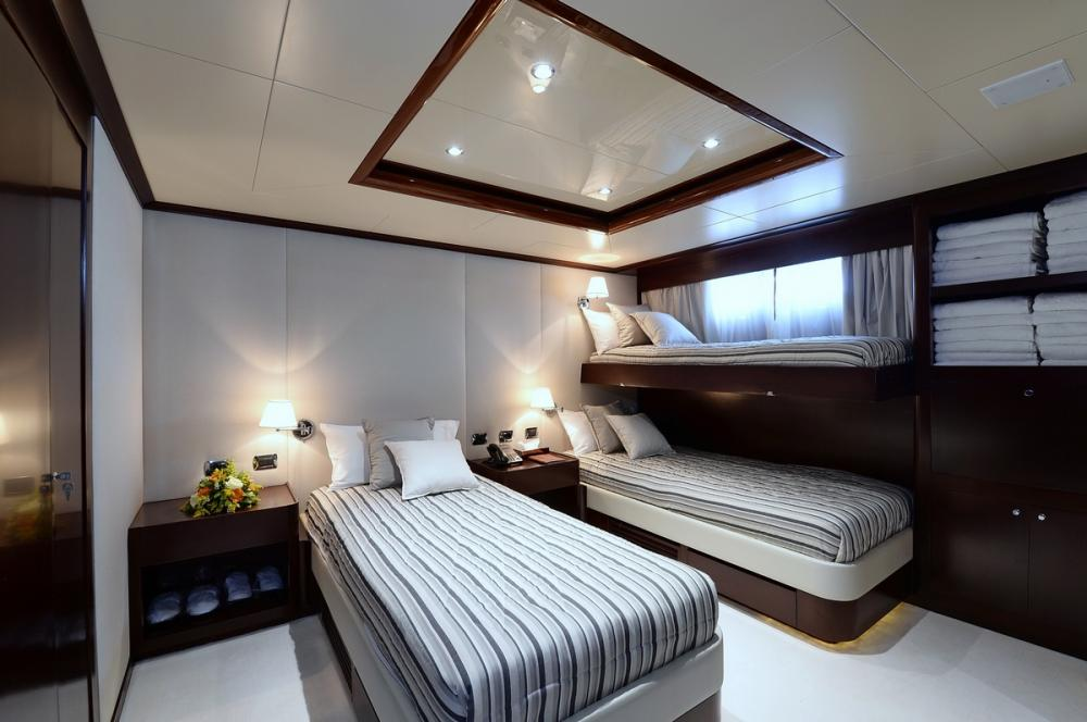 SHAF - Luxury Motor Yacht For Sale - TWIN CABINS - Img 3   C&N
