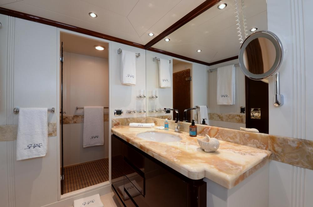 SHAF - Luxury Motor Yacht For Sale - MASTER CABIN - Img 2   C&N