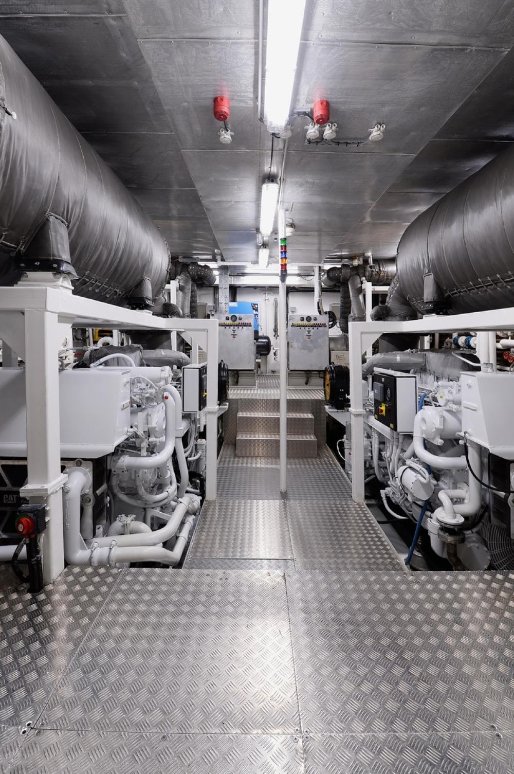 SHAF - Luxury Motor Yacht For Sale - Engine Room - Img 1   C&N