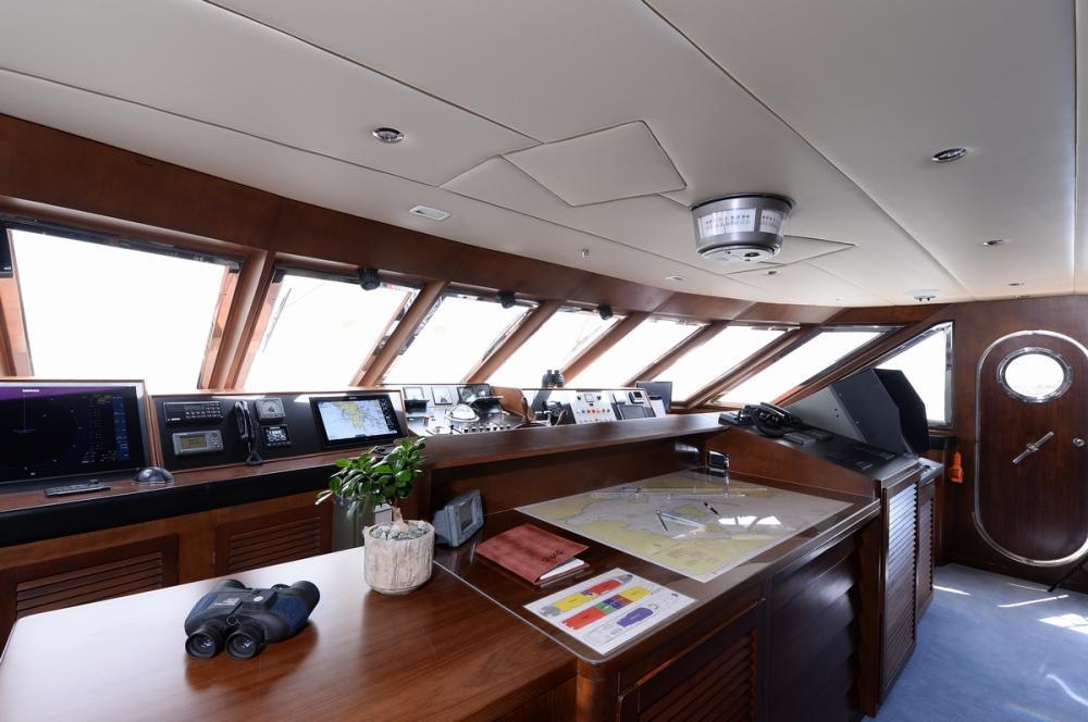 SHAF - Luxury Motor Yacht For Sale - Pilothouse - Img 1   C&N