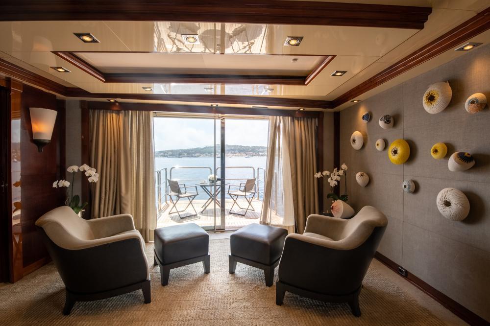 AZTECA - Luxury Motor Yacht For Sale - Master Cabin - Img 3 | C&N