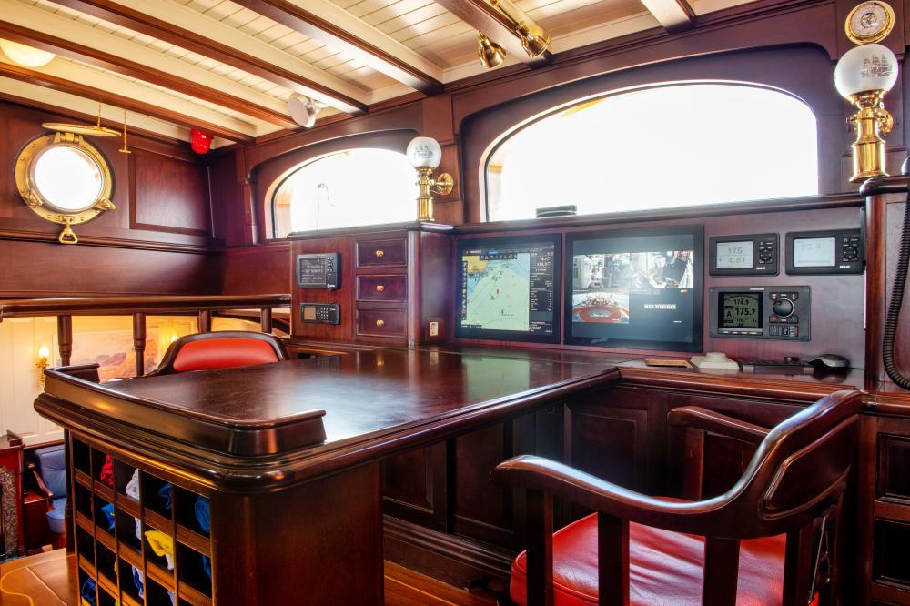 ASGARD - Luxury Sailing Yacht For Sale - Pilothouse - Img 1 | C&N