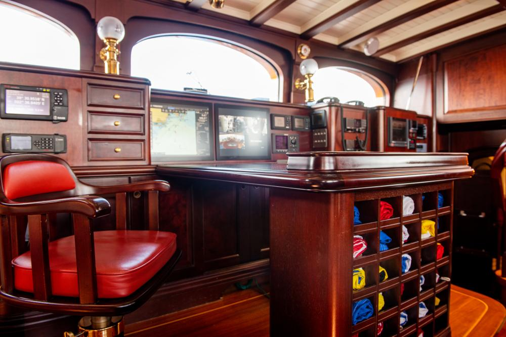 ASGARD - Luxury Sailing Yacht For Sale - Pilothouse - Img 2 | C&N