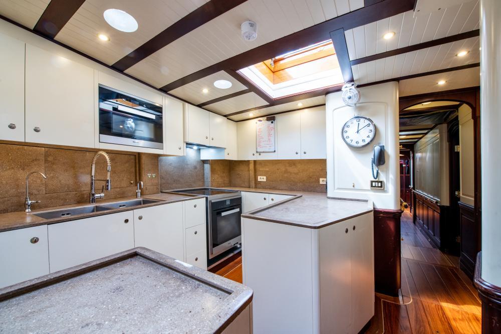 ASGARD - Luxury Sailing Yacht For Sale - Galley - Img 1 | C&N