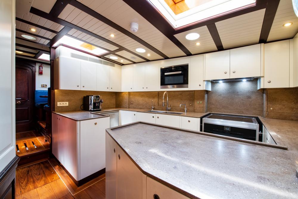 ASGARD - Luxury Sailing Yacht For Sale - Galley - Img 2 | C&N