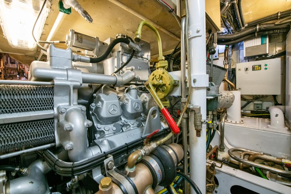 ASGARD - Luxury Sailing Yacht For Sale - Engine Room - Img 1 | C&N