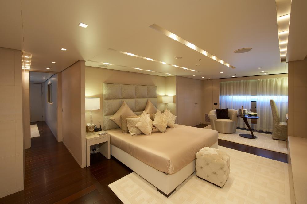 BURKUT - Luxury Motor Yacht For Charter - Master Cabin - Img 1   C&N