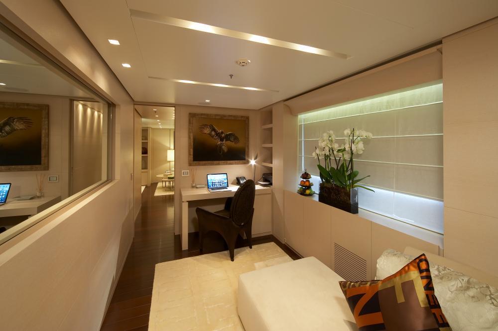 BURKUT - Luxury Motor Yacht For Charter - Master Cabin - Img 3   C&N