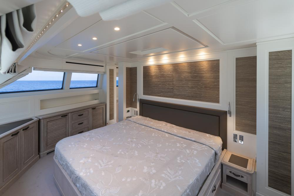 CHICK CHUK - Luxury Motor Yacht For Sale - Master Cabin - Img 2 | C&N