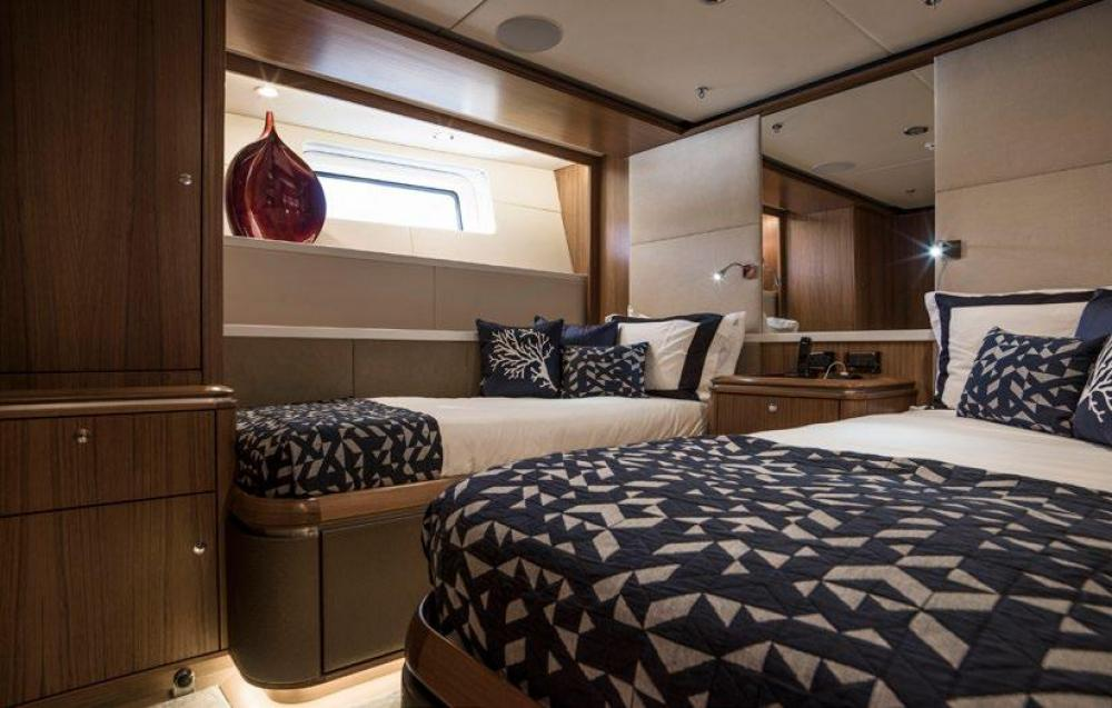 TWILIGHT - Luxury Sailing Yacht For Charter - 2 TWIN CABINS - Img 1   C&N