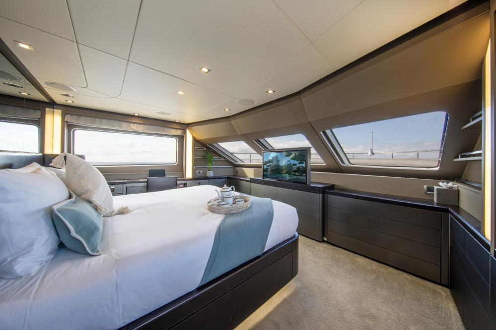 ORSO 3 - Luxury Motor Yacht For Charter - 1 MASTER CABIN - Img 1   C&N