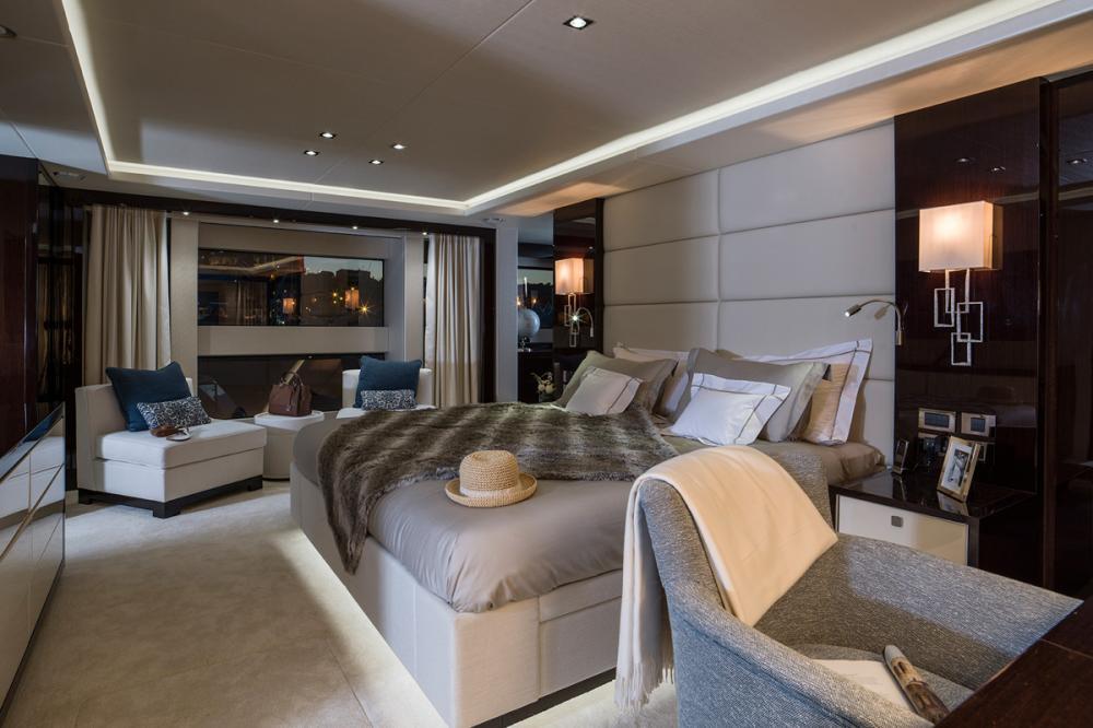 FLEUR - Luxury Motor Yacht For Charter - 1 MASTER CABIN - Img 1 | C&N