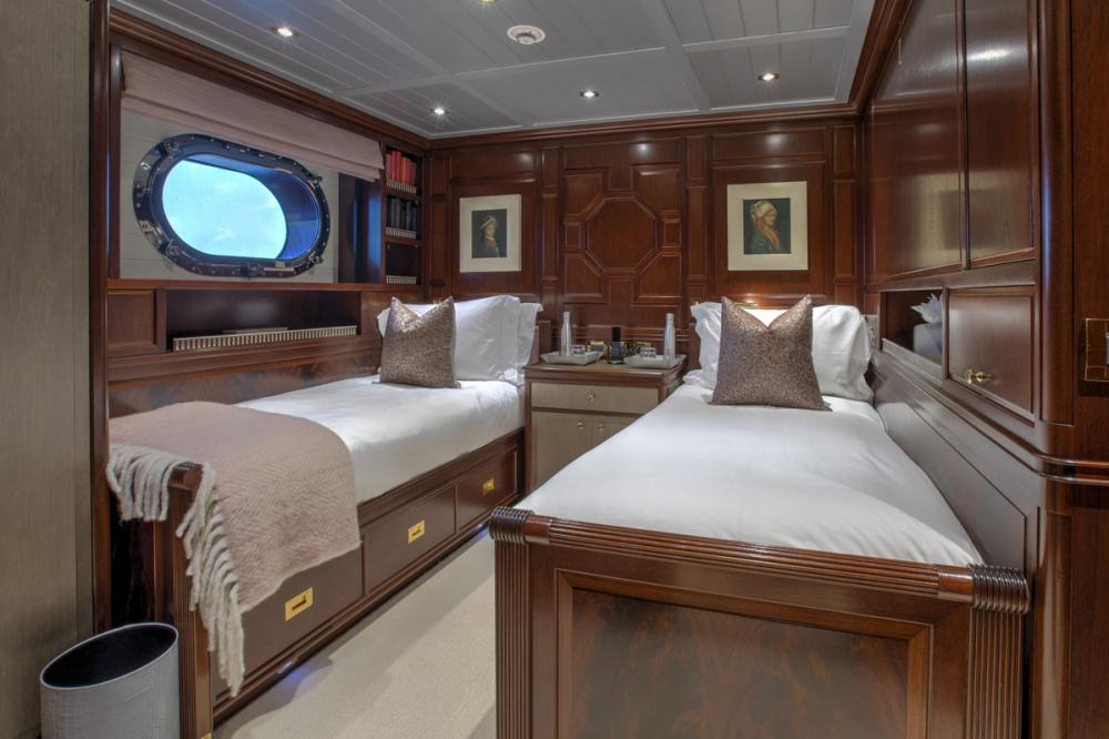 BLUSH - Luxury Sailing Yacht For Charter - 2 CONVERTIBLE CABINS - Img 2   C&N
