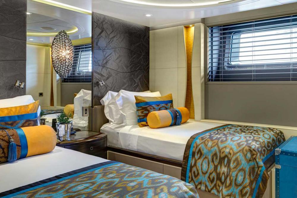 MONDANGO 3 - Luxury Sailing Yacht For Charter - 1 TWIN CABIN - Img 1   C&N