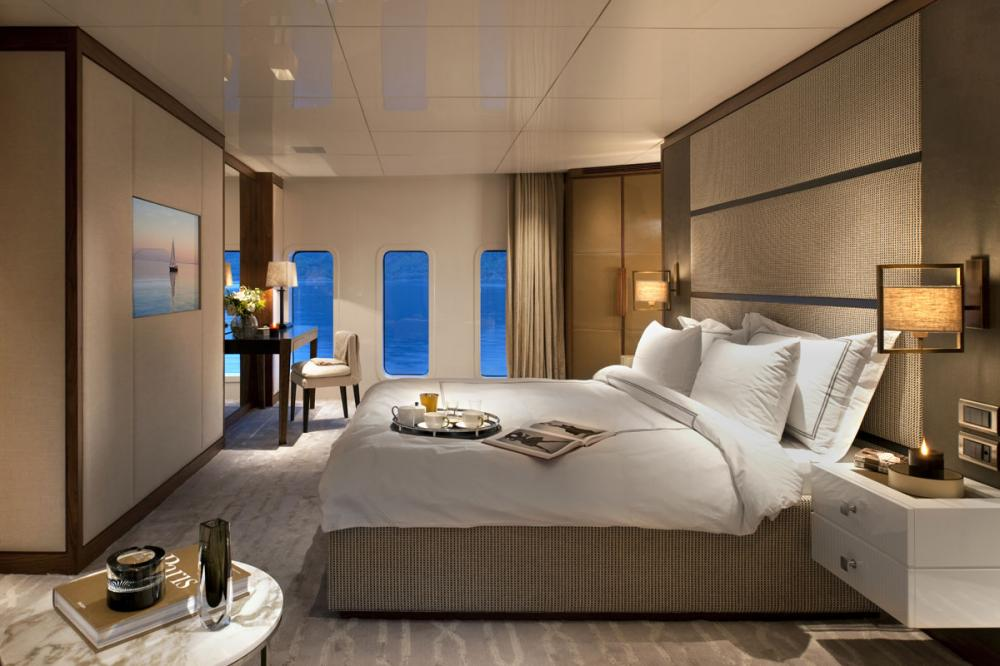 ORIENT STAR - Luxury Motor Yacht For Charter - 1 MASTER CABIN - Img 1 | C&N