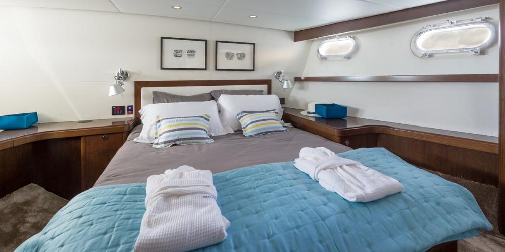 MONARA - Luxury Motor Yacht For Charter - 1 VIP CABIN - Img 1   C&N