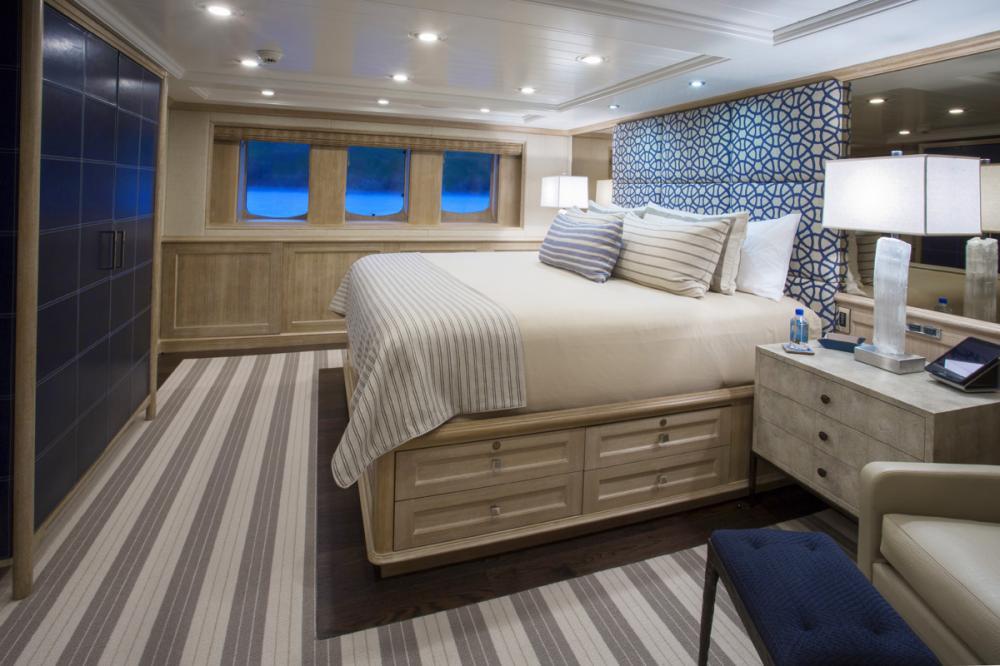 BLU 470 - Luxury Motor Yacht For Charter - 1 MASTER CABIN - Img 1 | C&N
