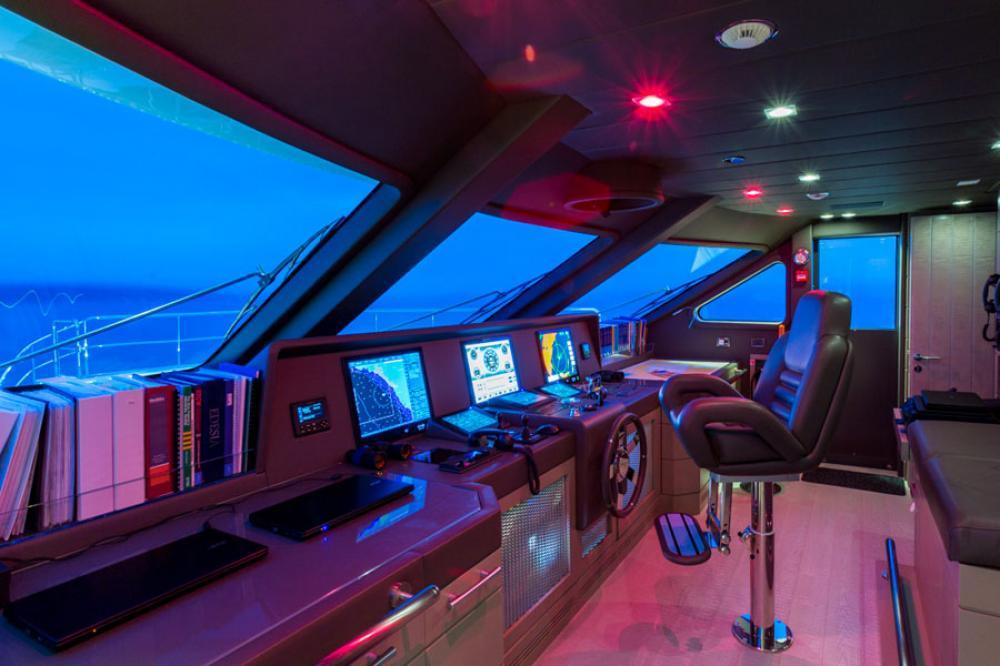 EDESIA - Luxury Motor Yacht For Sale - BRIDGE - Img 1 | C&N