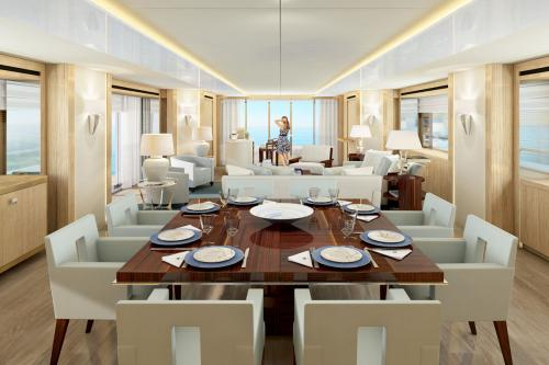 ARADOS - Luxury Motor Yacht For Charter - Interior Design - Img 3 | C&N