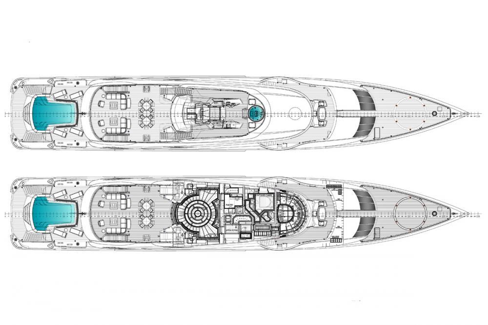 OKTO - Luxury Motor Yacht For Charter - MAIN DECK - Img 1 | C&N