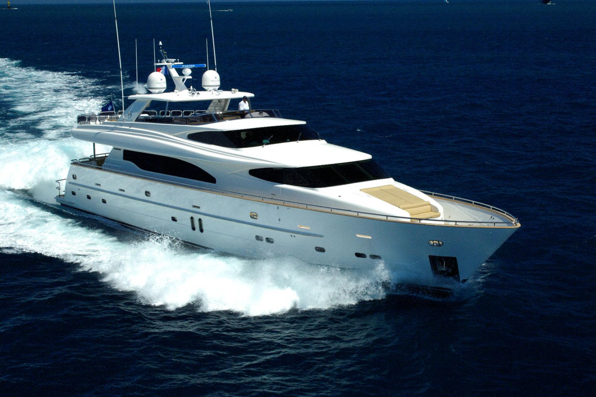 TRIPLE 888 - Luxury Motor Yacht For Sale - Exterior Design - Img 1 | C&N
