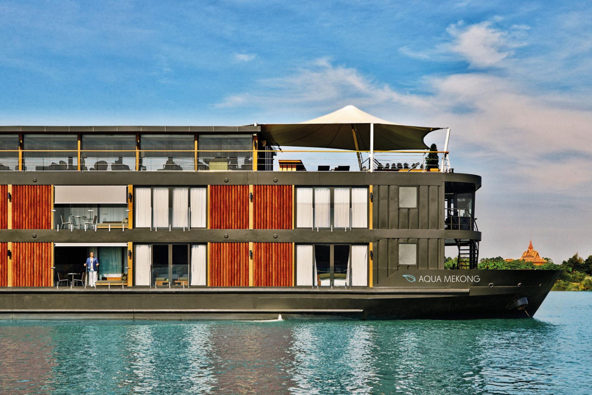 AQUA MEKONG - Luxury Motor Yacht For Charter - Exterior Design - Img 1   C&N