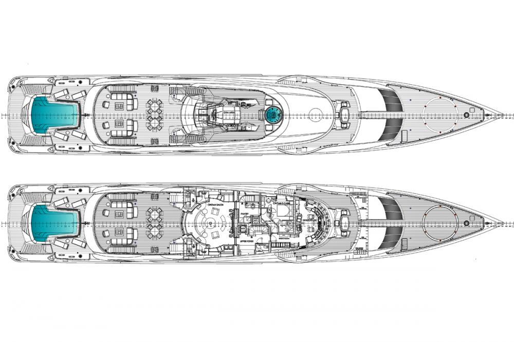 OKTO - Luxury Motor Yacht For Charter - SUN DECK - Img 1 | C&N