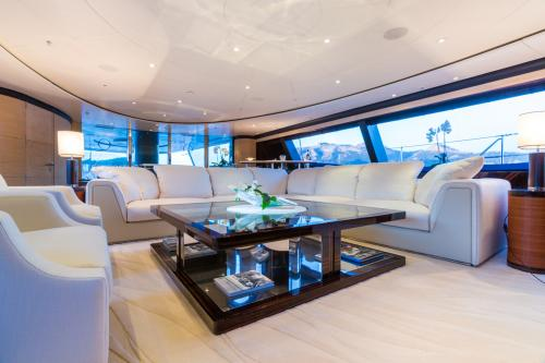 Q - Luxury Sailing Yacht For Charter - Interior Design - Img 2 | C&N