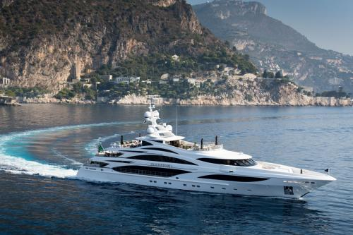 ILLUSION V - Luxury Motor Yacht for Charter | C&N