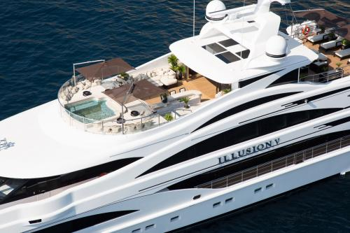 ILLUSION V - Luxury Motor Yacht For Charter - Exterior Design - Img 3 | C&N