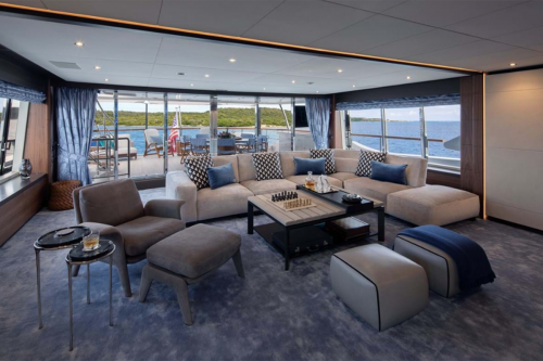 SKYLER - Luxury Motor Yacht For Charter - Interior Design - Img 3 | C&N