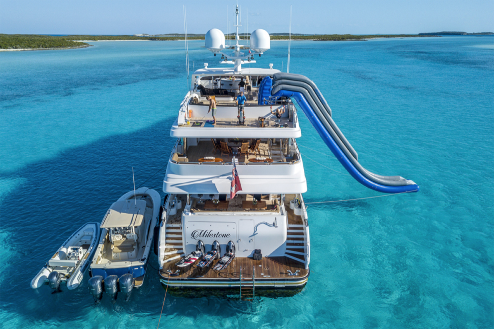MILESTONE - Luxury Motor Yacht For Charter - Exterior Design - Img 1   C&N