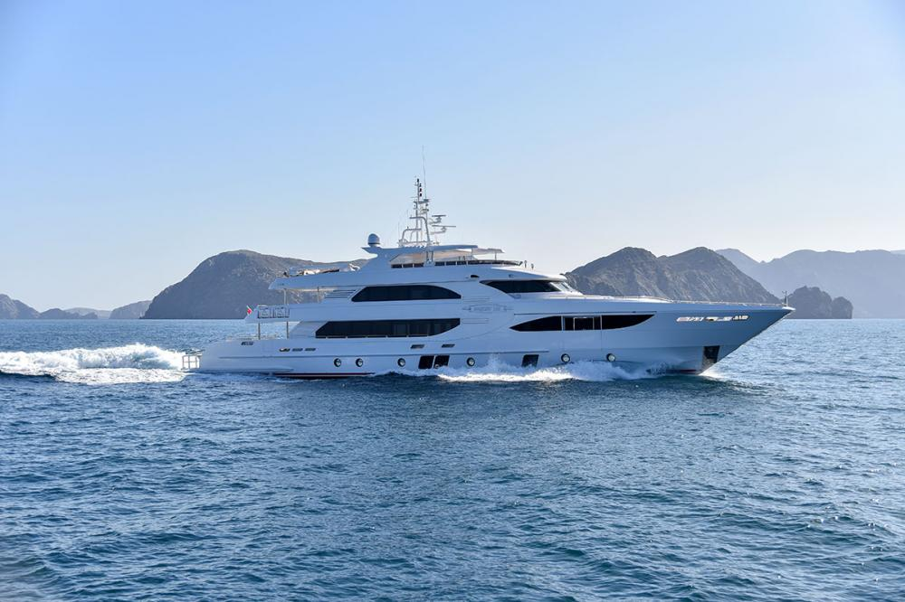 Camper & Nicholsons are delighted to present the Gulf Craft Majesty 135, Nashwan, for sale. - Industry | C&N
