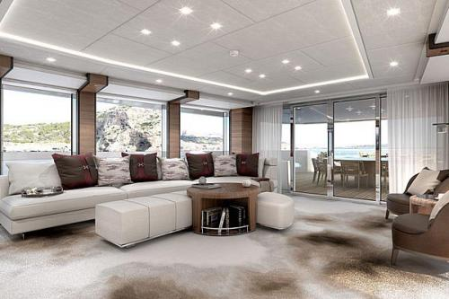 ELA - Luxury Motor Yacht For Sale - Interior Design - Img 3 | C&N