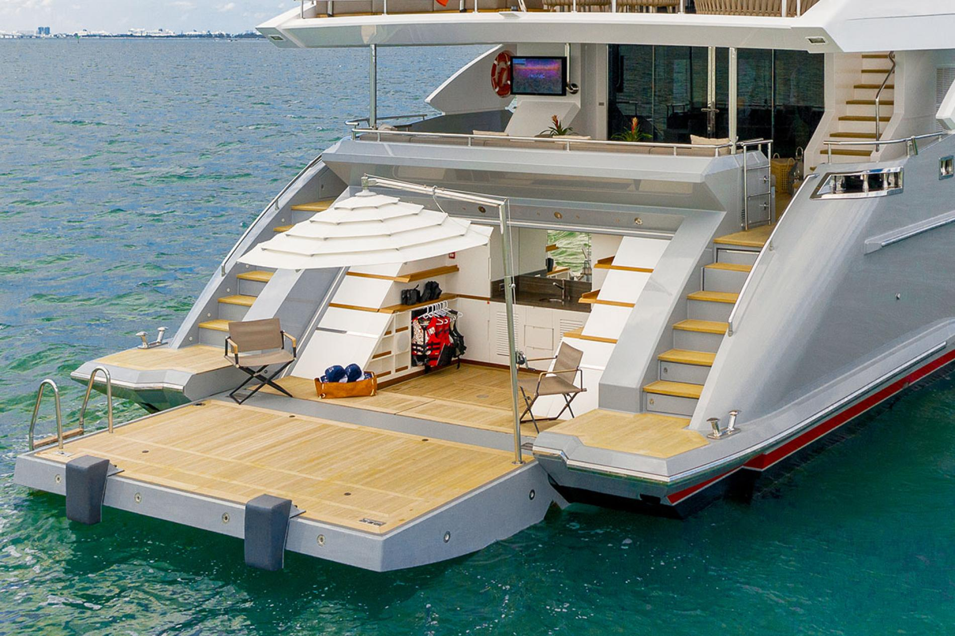 DELIBERATELY LUCKY - Luxury Motor Yacht For Sale - Exterior Design - Img 1   C&N