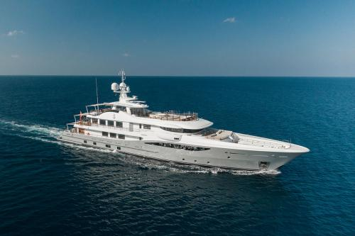 SERENITY J - Luxury Motor Yacht for Charter | C&N