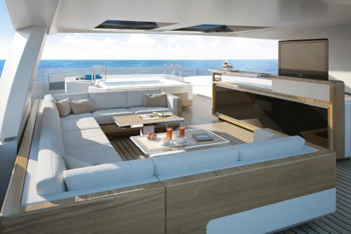 TANKOA S501 #4 - Luxury Motor Yacht For Sale - Exterior Design - Img 2 | C&N