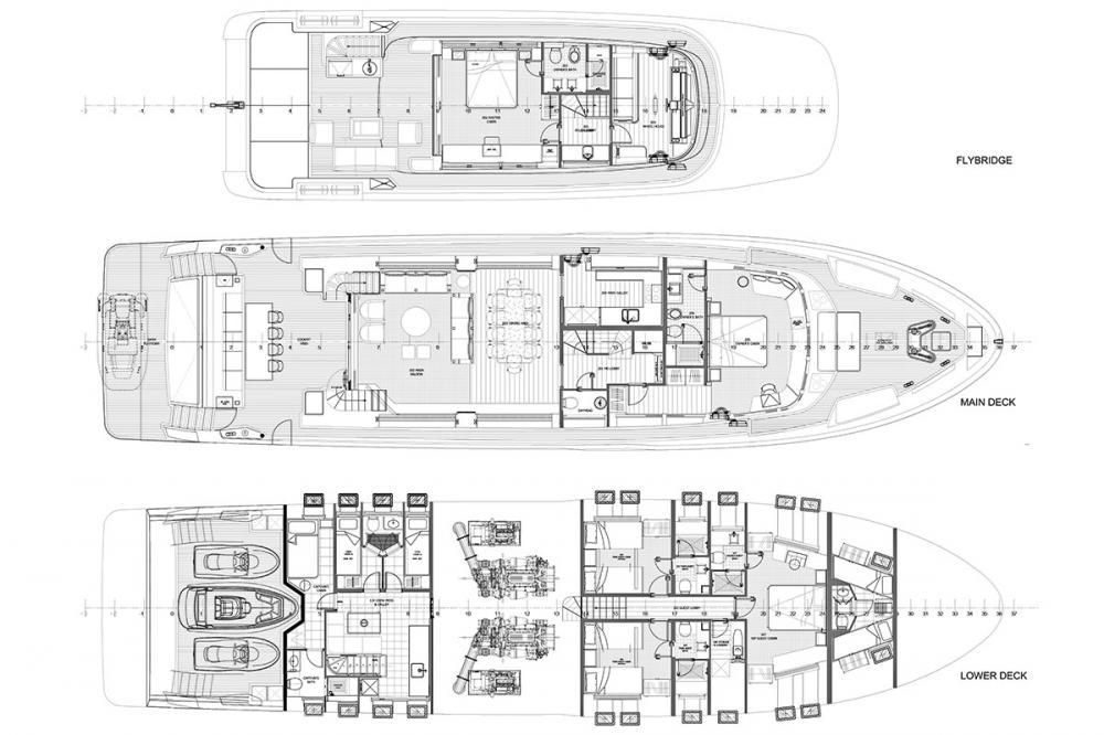 JEWEL - Luxury Motor Yacht For Sale -  - Img 1   C&N