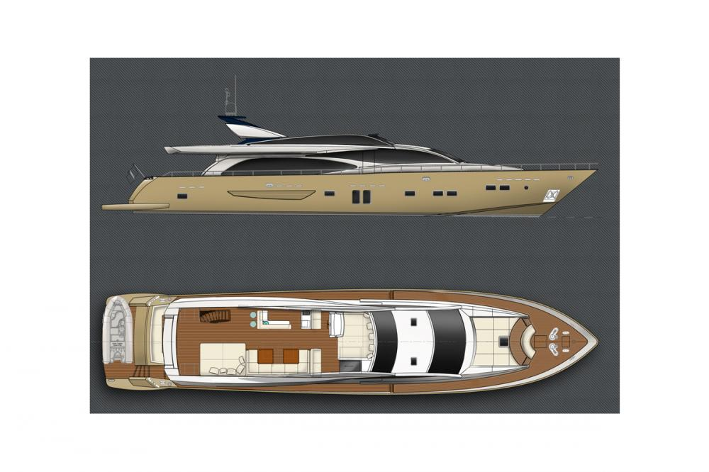 HUMMINGBIRD - Luxury Motor Yacht For Charter - Layout - Img 1 | C&N