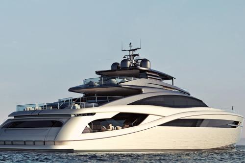 INFINITY 50 - Luxury Motor Yacht For Sale - Exterior Design - Img 3 | C&N