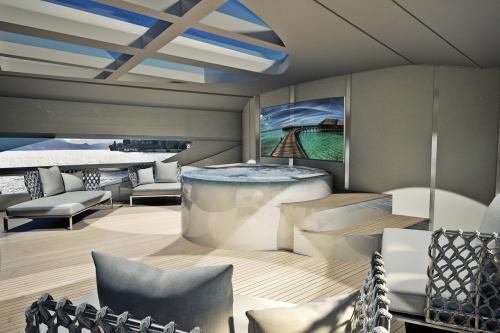 INFINITY 50 - Luxury Motor Yacht For Sale - Interior Design - Img 1 | C&N
