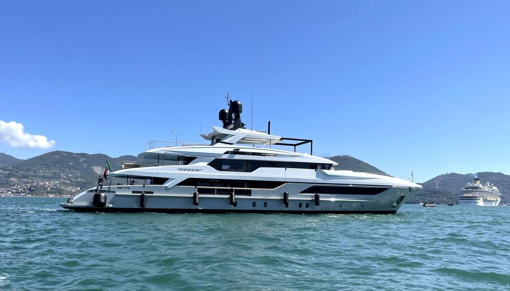 New Delivery : LION 48m Baglietto - Industry | C&N