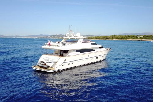 TRIPLE 888 - Luxury Motor Yacht For Sale - Exterior Design - Img 2 | C&N